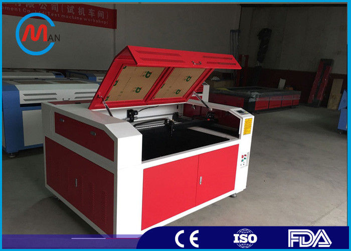 Water Cooled CNC Wood Mini Laser Cutting Machine 400 x 300mm Working Area