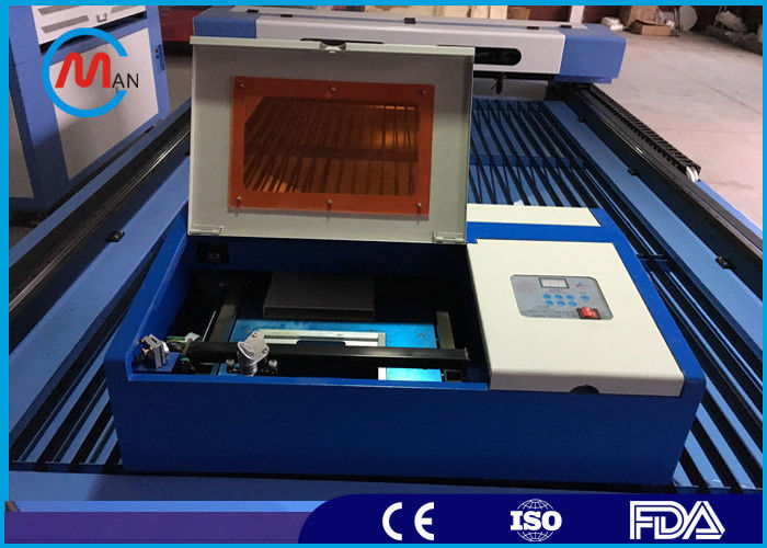 Mini 40w Co2 Laser Engraving Cutting Machine For Leather Hermetic Co2 Glass Tube
