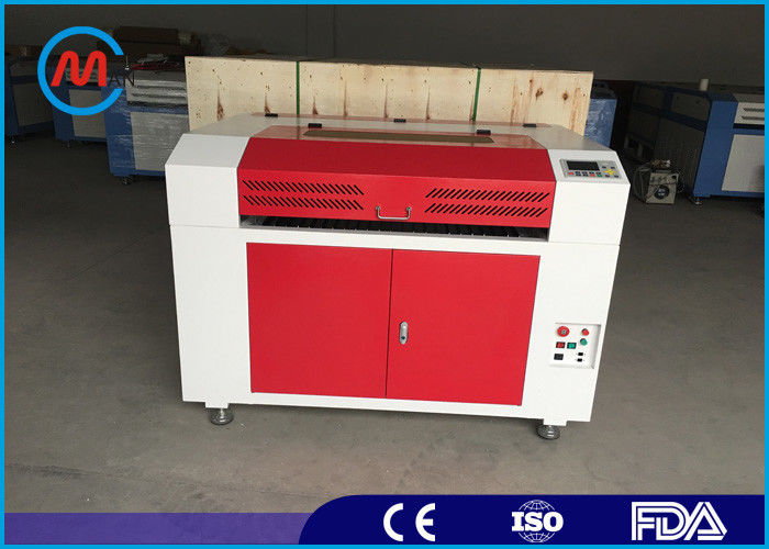 Digital CO2 Laser Engraving Machine , High Speed Leather Laser Engraver