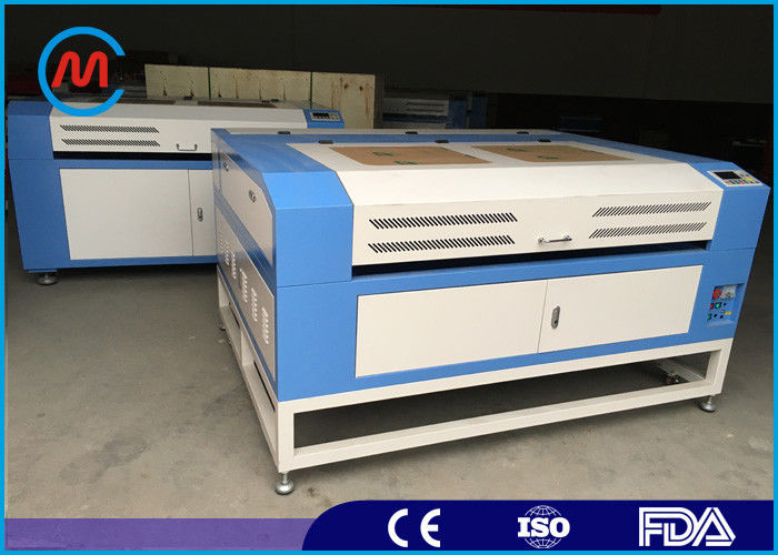 Rigid Leather CO2 Laser Cutting Machine Gantry With Plasma Cutting Torch