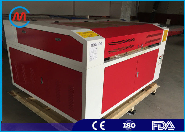 80w Co2 Small MDF Laser Cutting Machine Intelligent Three Phase Motor