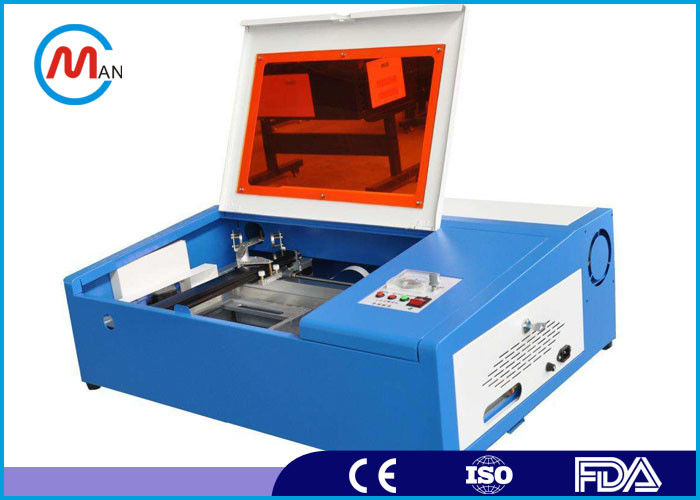 40w 3020 Mini Co2 Paper Card Laser Cutting Engraving Machine 220V±10% 50HZ