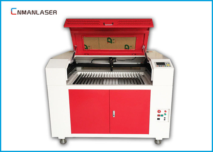 6090 80w CO2 Laser Cutting Machine For Wood Fabric Acrylic Leather MDF Plywood