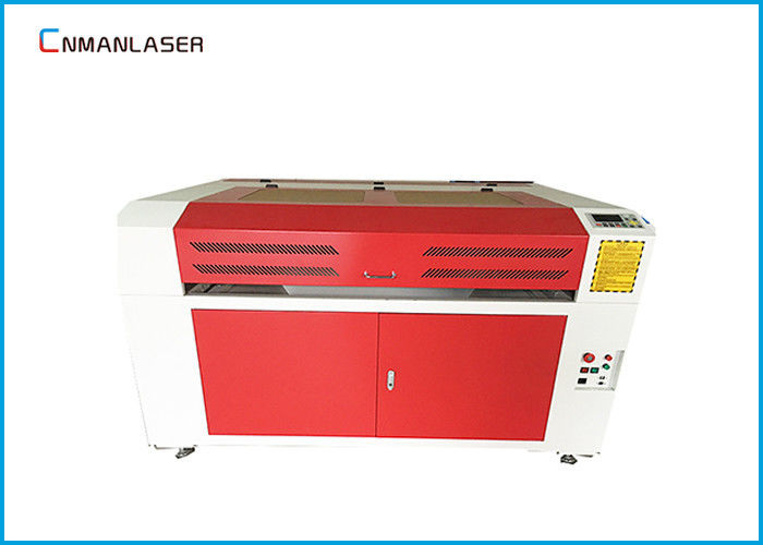 Table Top Honeycomb Glass Tube Laser Engraving And Cutting Machine For Crystal Wood Craft