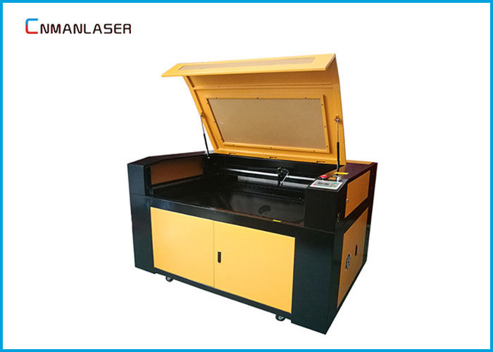 MDF Borad Rubber Stamp Shoe Design CO2 Laser Engraving Cutting Machine With 6090 150w