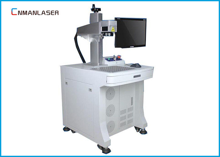 Long Lifetime 20W Raycus CO2 Laser Marking Machine For Instrument Automobile Parts