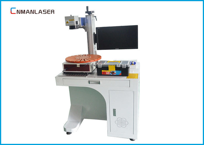 PVC Pipe Glass Acrylic 50w Desktop CO2 Laser Marking Machine With Rotary Devices