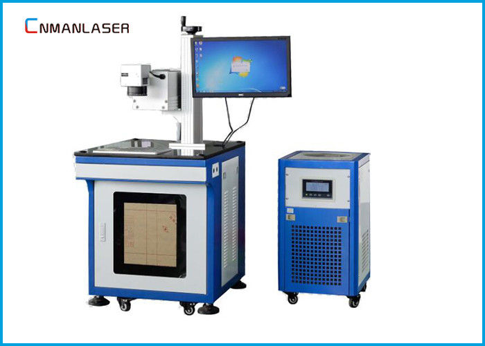 10w 30w 60w Air Cooling CO2 Laser Marking Machine For Leather plexiglass Rubber