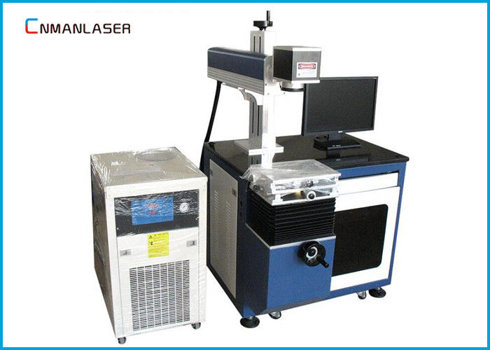 Long Life RF Glass Tube 80w CO2 Laser Marking Machine For Serial Number Nonmetal Wood