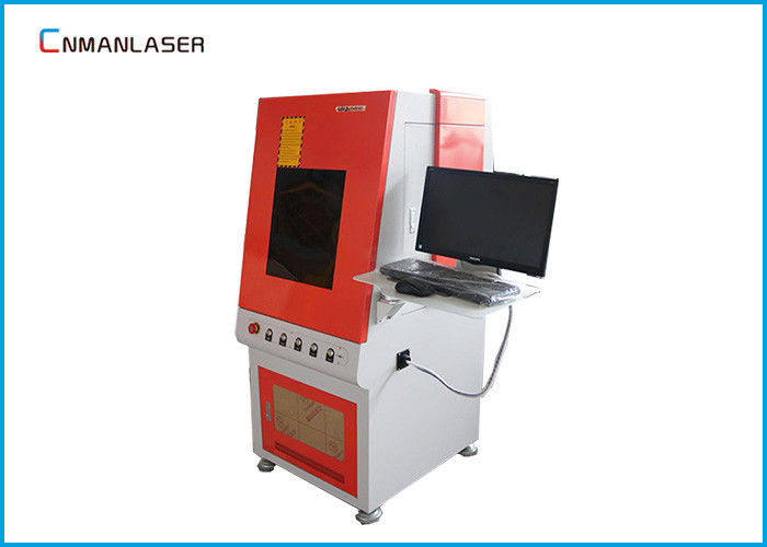 Desktop Enclosed Laser Part Marking Machine 7000~15000mm/S Speed